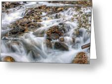 0190 Glacial Runoff 2 Greeting Card