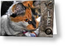 02 Cleo Greeting Card