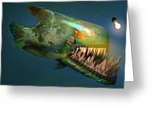 Iron Fish   Greeting Card