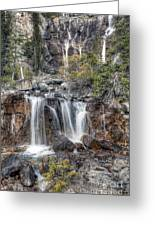 0202 Tangle Creek Falls 5 Greeting Card