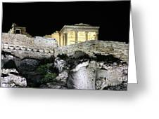 0212 The Acropolis Athens Greece Greeting Card