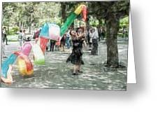 0263-jingshan Park - Light Color Pencils Sl Greeting Card
