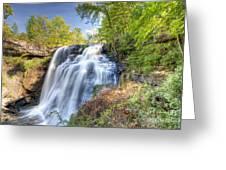 0302 Cuyahoga Valley National Park Brandywine Falls Greeting Card