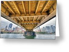 0309 Pittsburgh 4 Greeting Card by Steve Sturgill