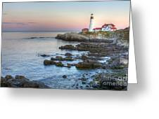 0312 Portland Head Lighthouse Greeting Card