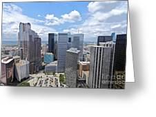 0317 Dallas Texas Greeting Card