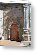 0328 Mission At San Juan Capistrano Greeting Card