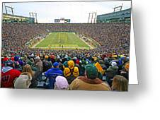 0350 Lambeau Field Greeting Card