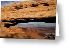 0375 Mesa Arch Greeting Card