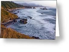 0412 Indian Beach  Greeting Card
