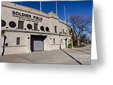 0417 Soldier Field Chicago Greeting Card by Steve Sturgill