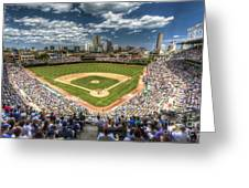 0443 Wrigley Field Chicago  Greeting Card