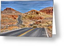0445 Valley Of Fire Nevada Greeting Card