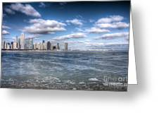 0447 Chicago Skyline Greeting Card