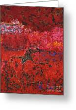 045 Abstract Thought Greeting Card