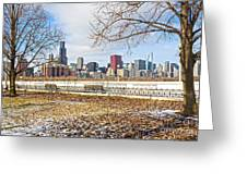 0452 Chicago Skyline Greeting Card