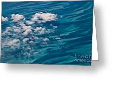 0458 Above The Caribbean Greeting Card