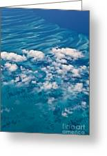 0459 Above The Caribbean Greeting Card