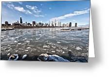 0486 Chicago Skyline Greeting Card