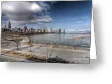 0488 Chicago Skyline Greeting Card