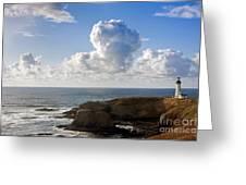 0514 Yaquina Lighthouse Greeting Card