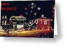 051708-1a  Holiday Greetings Greeting Card