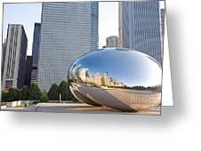 0553 Millennium Park Chicago Greeting Card