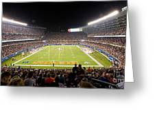 0586 Soldier Field Chicago Greeting Card by Steve Sturgill