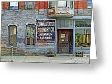 0605 Old Foundry Building Greeting Card