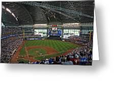 0611 Miller Park Greeting Card