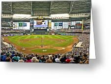 0618 Milwaukee's Miller Park Greeting Card