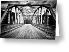 0648 Bow River Bridge Greeting Card