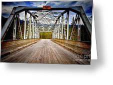 0649 Bow River Bridge Greeting Card