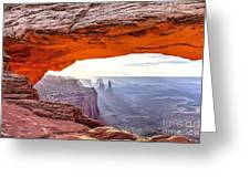 0710 Mesa Arch Greeting Card