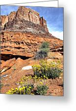 0712 Guardian Of Canyonland Greeting Card