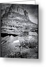 0715 Guardian Of Canyonland Greeting Card