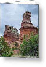 07.30.14 Palo Duro Canyon - Lighthouse Trail  19e Greeting Card