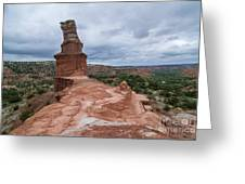 07.30.14 Palo Duro Canyon - Lighthouse Trail 47e Greeting Card