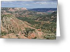 07.30.14 Palo Duro Canyon - Lighthouse Trail 5e Greeting Card