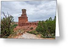 07.30.14 Palo Duro Canyon - Lighthouse Trail 62e Greeting Card