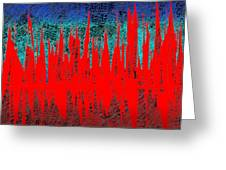 0738 Abstract Thought Greeting Card