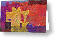 0787 Abstract Thought Greeting Card