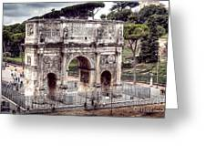 0793 Arch Of Constantine Greeting Card