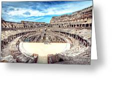 0795 Roman Colosseum Greeting Card