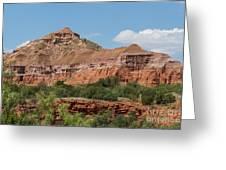 08.03.14 Palo Duro Canyon Rojo Grande Trail 10e Greeting Card