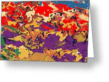 0806 Abstract Thought Greeting Card