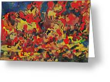 0808 Abstract Thought Greeting Card