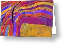 0871 Abstract Thought Greeting Card