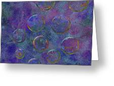 0877 Abstract Thought Greeting Card