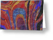 0880 Abstract Thought Greeting Card